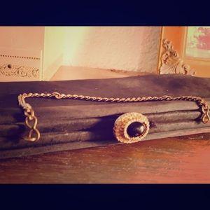 Handbags - Elegant 1940's vintage clutch, timeless piece.